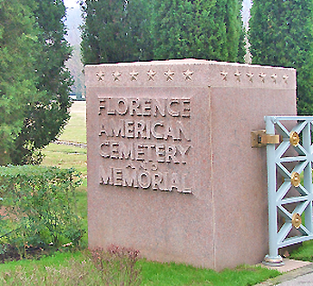 florence american cemetery memorial
